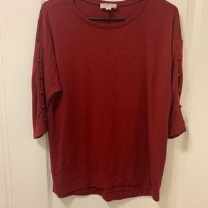 Loft 1/2 sleeve shirt